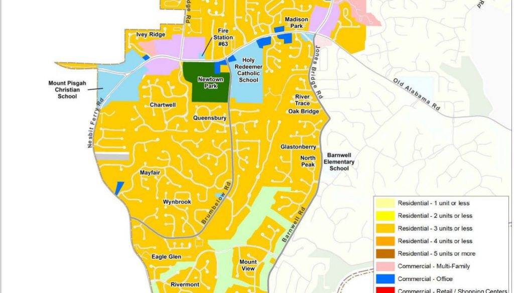 Newtown: Future Land Use Map