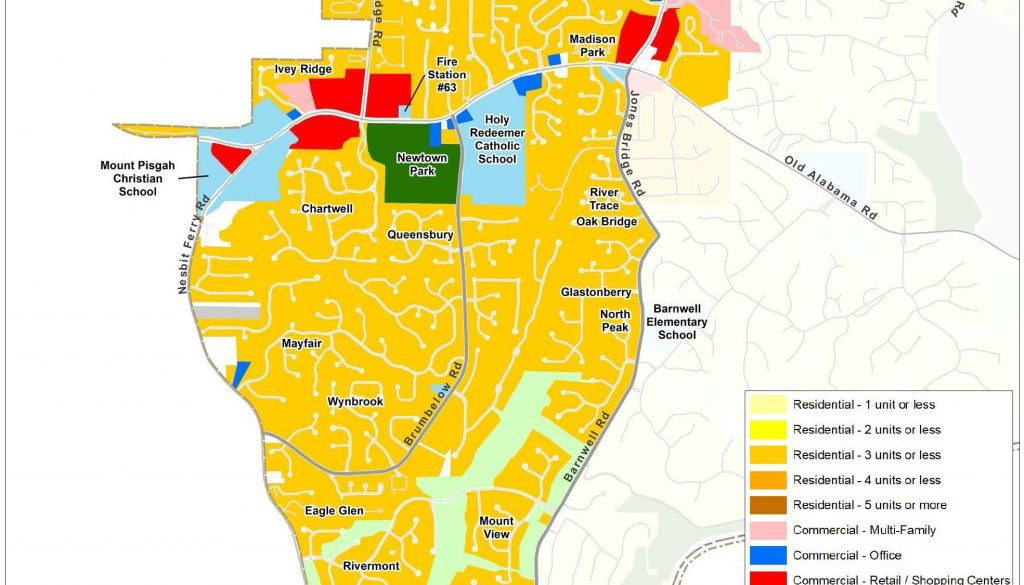 Newtown: Current Land Use Map