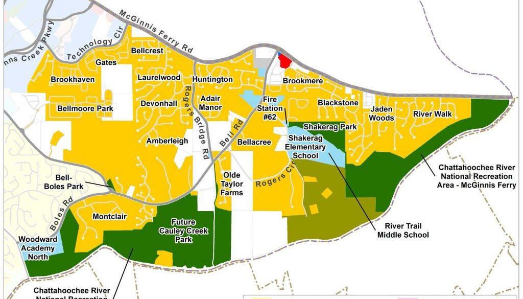 Shakerag: Current Land Use Map